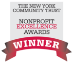 The New York Community Trust logo, winner of nonprofit excellence awards